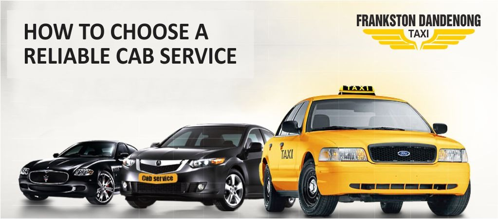 How to choose a cab service -